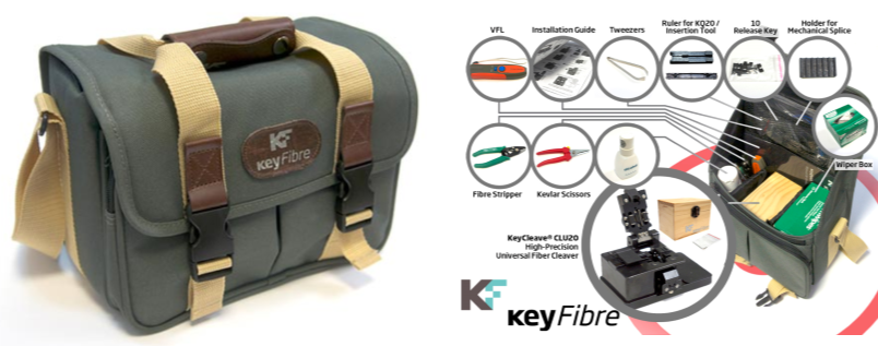 KeyFibre, fibre installation toolkit, ftth installation kit